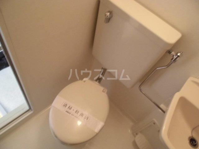 嵯峨スチューデントハウス 209号室のトイレ