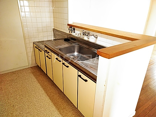 グランドール山口 105号室のキッチン