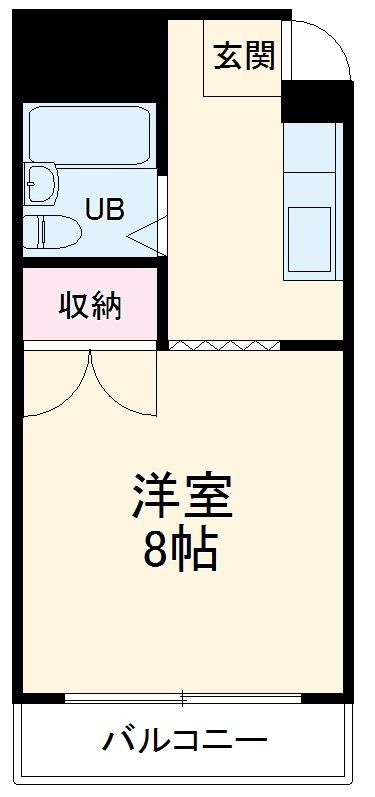プレアール箕面粟生 105号室の間取り
