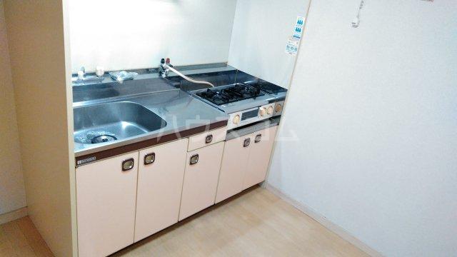 メゾン植村 105号室のキッチン