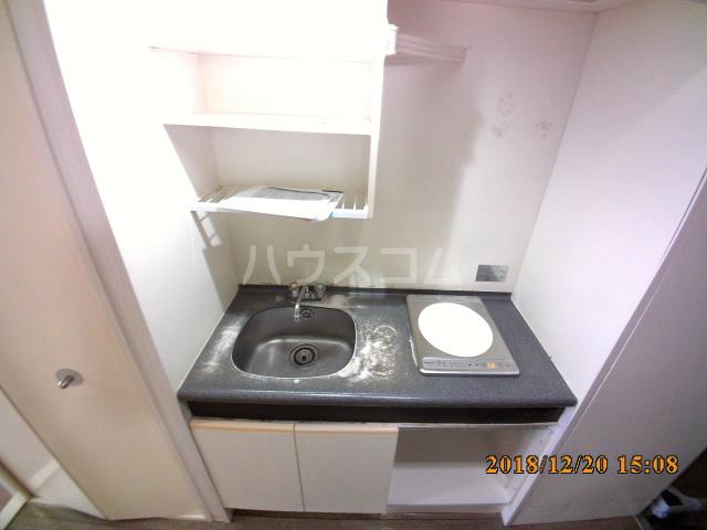 ミルオンデュール竹生 203号室のキッチン