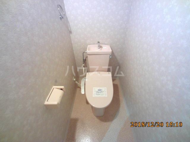 ミルオンデュール竹生 203号室のトイレ