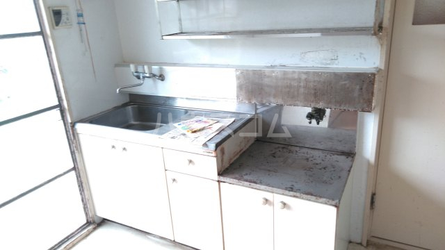 長興寺マンション 302号室のキッチン