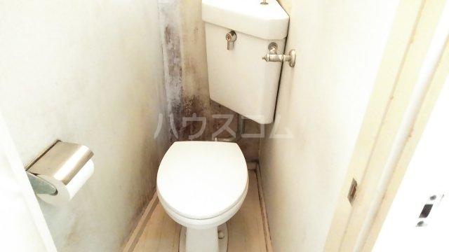 長興寺マンション 302号室のトイレ