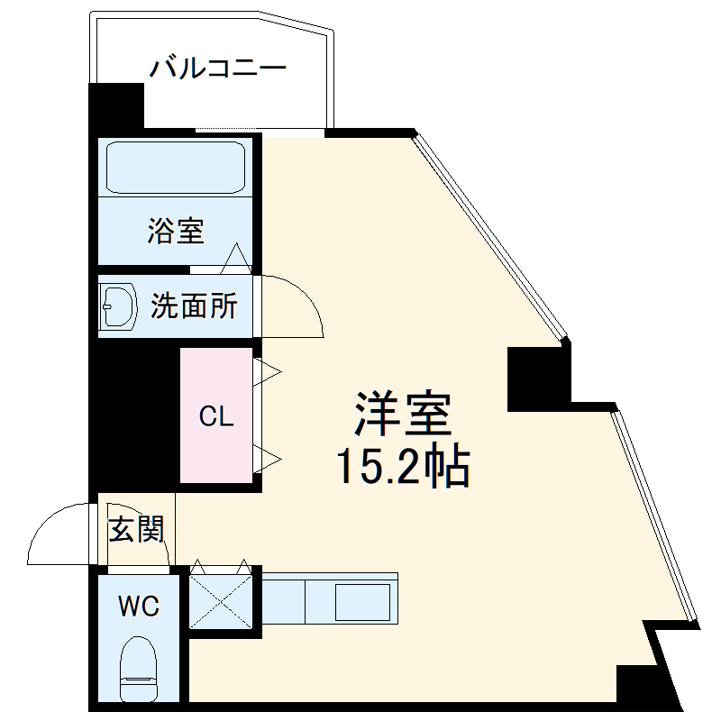 匠空TOYONAKA・303号室の間取り