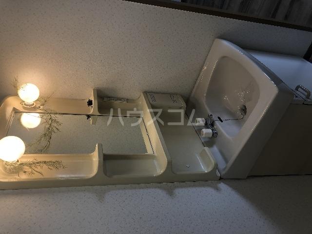 十番館 206号室の洗面所