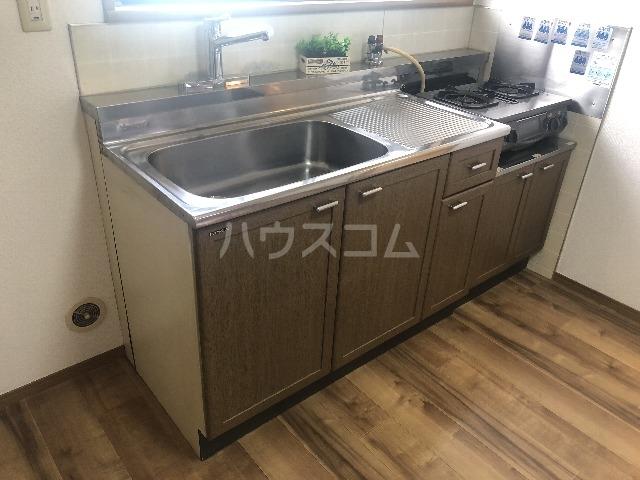 十番館 206号室のキッチン