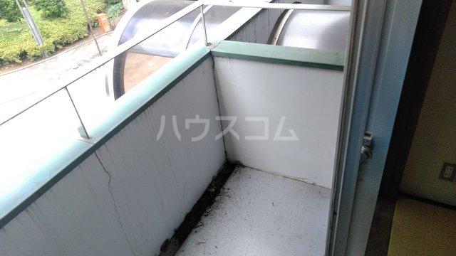 M・T・Dサンフラワー 203号室のバルコニー