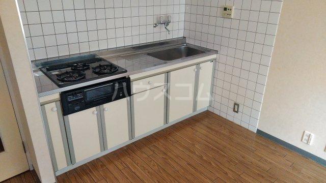 M・T・Dサンフラワー 203号室のキッチン