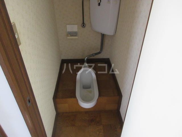 第一長谷川コーポ 101号室のトイレ