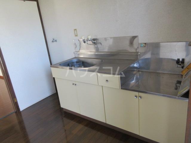 パークヒルズA棟 203号室のキッチン