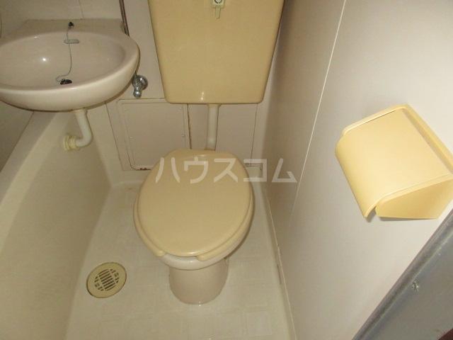 パークヒルズA棟 203号室のトイレ