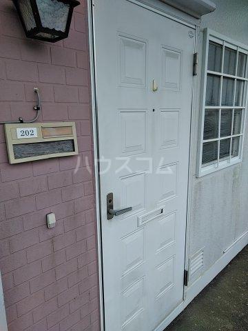 吉田ハイツ 202号室のエントランス