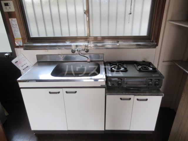 竹谷荘1のキッチン