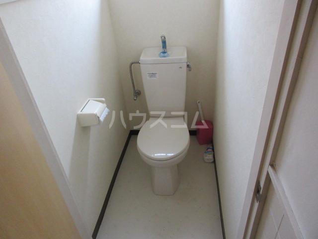 竹谷荘1のトイレ
