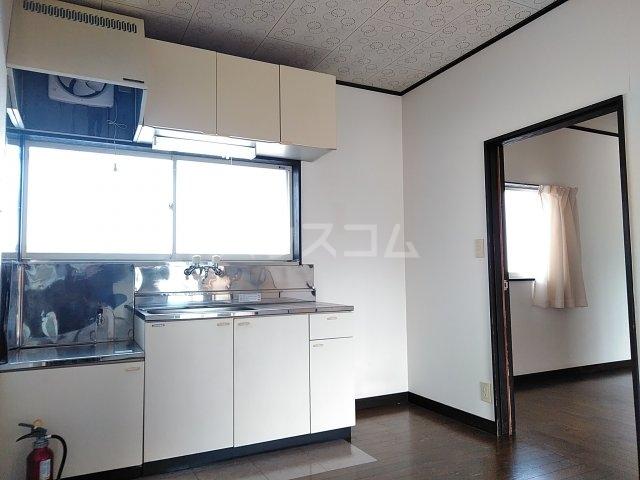 コーポルークワットA 202号室のキッチン