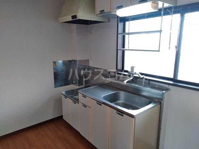 シティハイム・水源A A202号室のキッチン