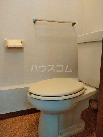 シティハイム・水源A A202号室のトイレ