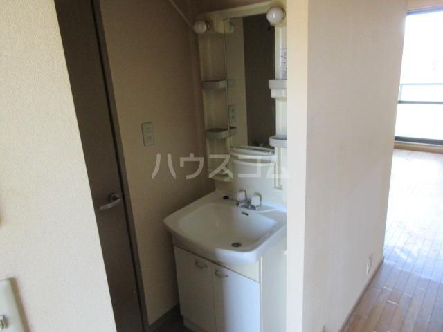 エストシャトーⅠ 202号室の洗面所