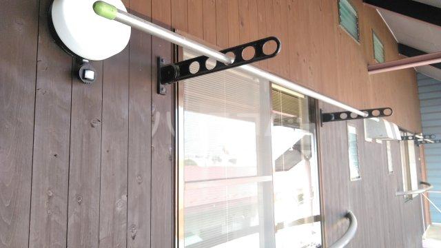カーサUⅠ 202号室のバルコニー