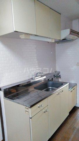 プラムガーデン 402号室のキッチン