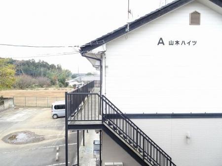 山木ハイツB 202号室の景色