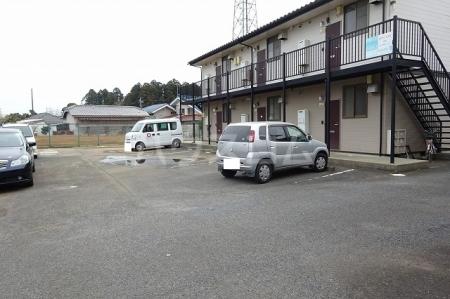 山木ハイツB 202号室の駐車場