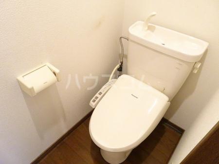山木ハイツB 202号室のトイレ