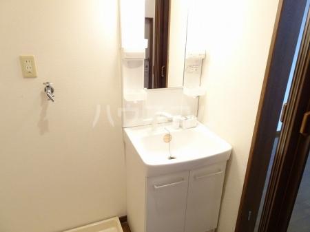 山木ハイツB 202号室の洗面所