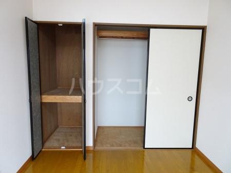 山木ハイツB 202号室の収納