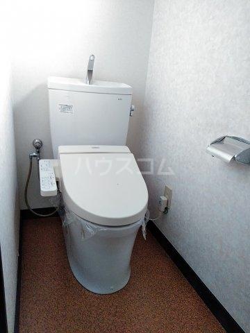 コーポルークワットB 201号室のトイレ