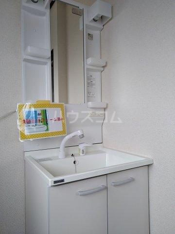 コーポルークワットB 201号室の洗面所