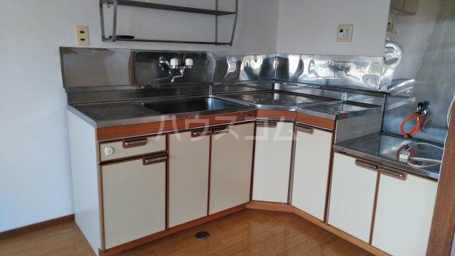 三の丸ロイヤルコーポ 101号室のキッチン