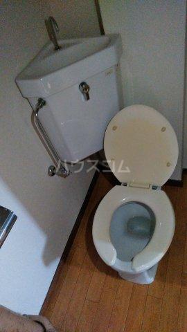 三の丸ロイヤルコーポ 101号室のトイレ