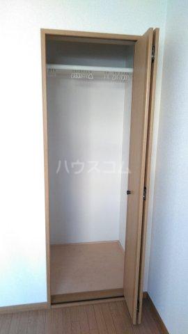 ブランエールD 102号室の収納