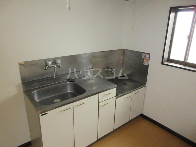 ハイツアンザイ 202号室のキッチン