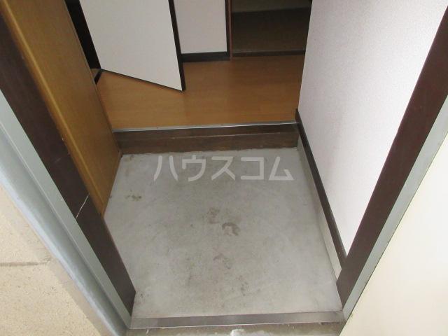 ハイツアンザイ 202号室の玄関