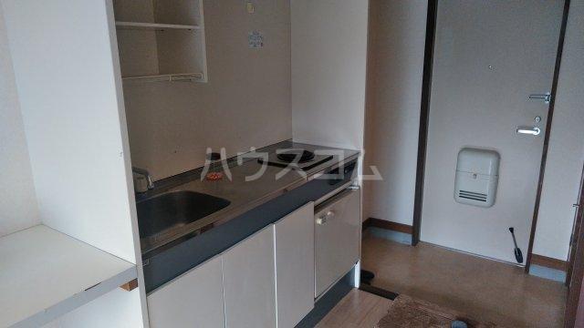 シャルマンワタリ 110号室のキッチン