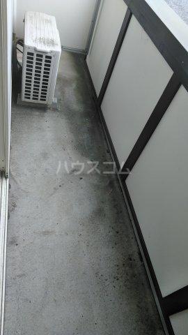 シャルマンワタリ 110号室のバルコニー