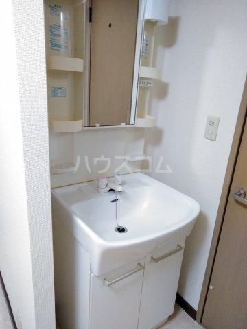 クリスタル水戸 103号室の洗面所