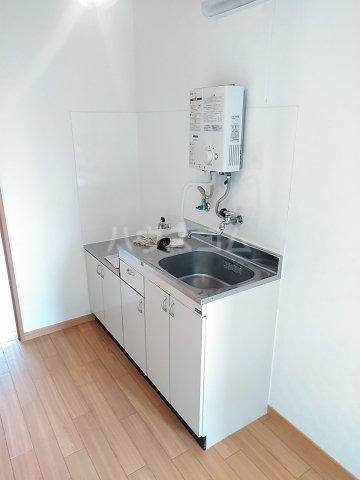 アネックス中川A 102号室のキッチン