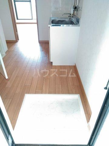 アネックス中川A 103号室の玄関
