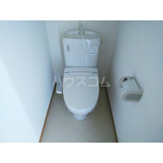 ラポール壱番館のトイレ