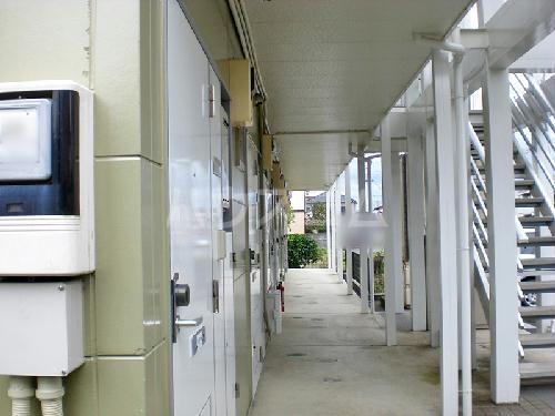 レオパレスアンヘル 106号室のエントランス
