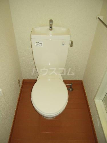 レオパレスアンヘル 106号室のトイレ