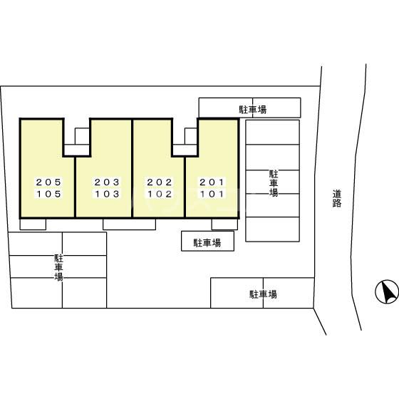 セジュール・ナカ 203号室のその他