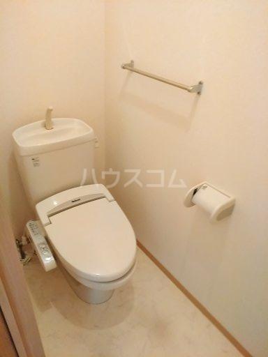 千波住宅 Aのトイレ