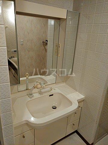 アクアシティ備前町 402号室の洗面所