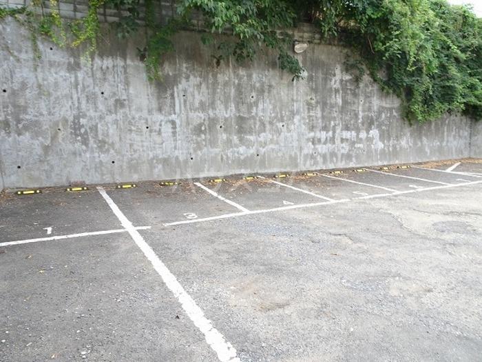 スカイハイツ諏訪 102号室の駐車場