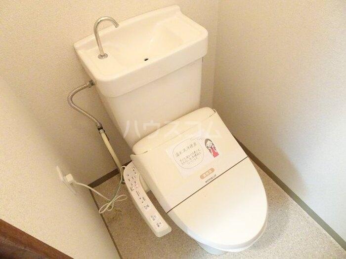 スカイハイツ諏訪 102号室のトイレ